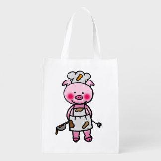 cute piggy chef