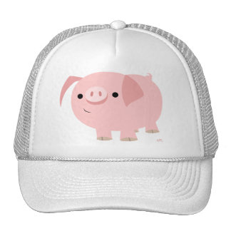 Cute piggy hat