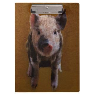 Cute Piglet Clipboards
