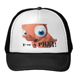 Cute Piglet Trucker Hats