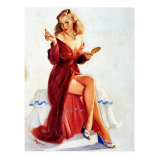 Cute Pin-Up Post Cards