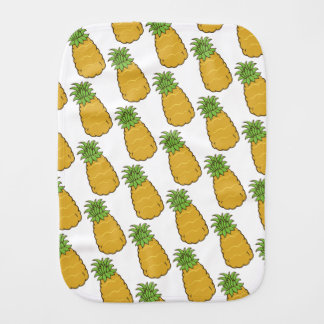 Cute Pineapple Burp Cloth
