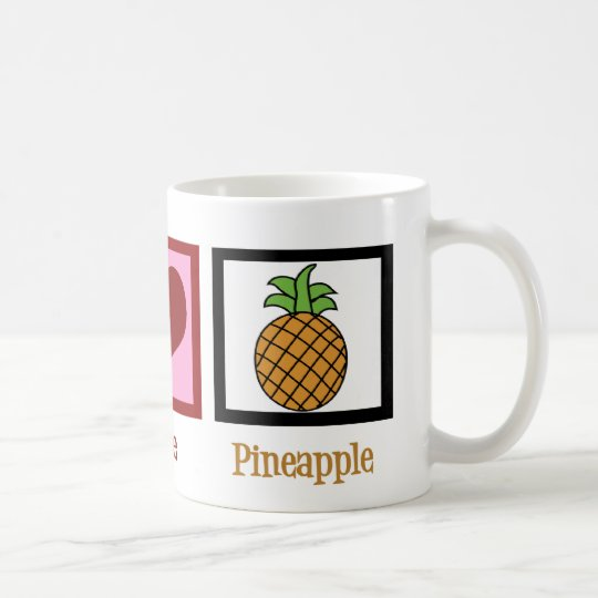 Cute Pineapple Coffee Mug