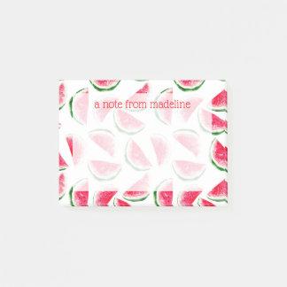 Cute Pineapple & Watermelon Pattern Post-it Notes