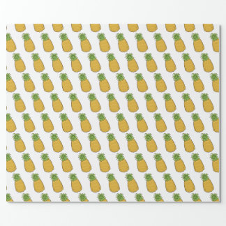 Cute Pineapple Wrapping Paper