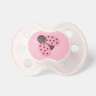 Cute Pink and Brown Ladybug Dummy