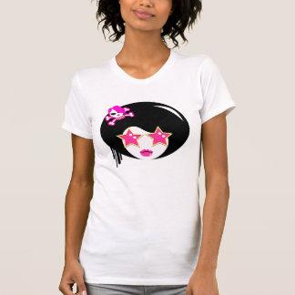 Cute Pink Apple Girl T-Shirt