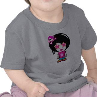 cute pink apple girl t shirt