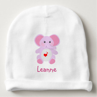 Cute Pink baby Elephant for newborn baby girl Baby Beanie