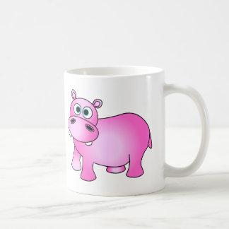 Cute Pink Baby Hippo Mug