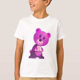 Cute Pink Bear Infant Long SleeveT-Shirt Tees