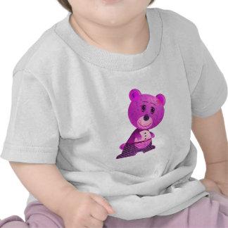 Cute Pink Bear Infant Long SleeveT-Shirt
