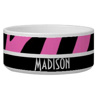 Cute Pink & Black Zebra Stripes