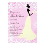 Cute Pink Bridal Shower Invite