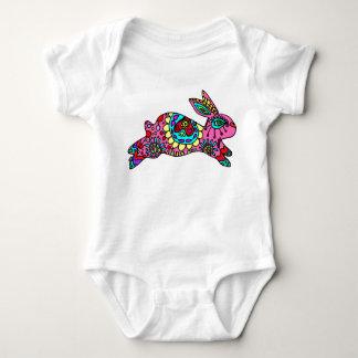 Cute Pink Bunny  Kaleidoscope Bunny T-shirts