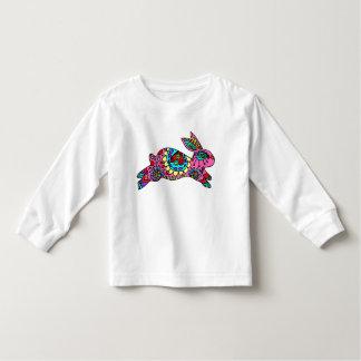 Cute Pink Bunny  Kaleidoscope Bunny Tshirt