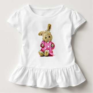 Cute Pink Bunny Rabbit Toddler's Shirt