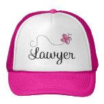 Cute Pink Butterfly Lawyer