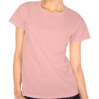 Cute pink California bear flag t shirt for women