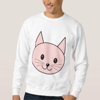 Cute Pink Cat Sweatshirt