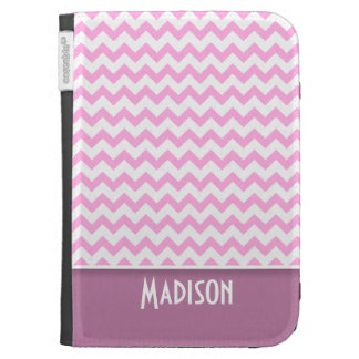 Cute Pink Chevron Cases For The Kindle