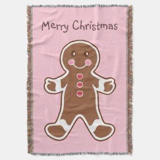 Christmas Gingerbread Blanket
