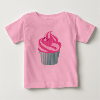 Cute Pink Cupcake Baby T-Shirt