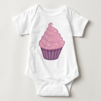 Cute Pink Cupcake Big Swirl Icing With Sprinkles Shirt