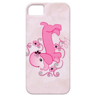Cute Pink Dachshund iPhone 5 Cover