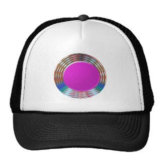 CUTE pink DOT circle BINDI sparkle: LOWPRICE STORE Trucker Hat