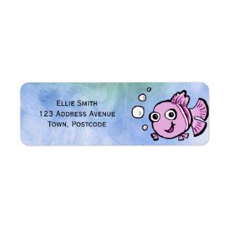 Cute Pink Fish