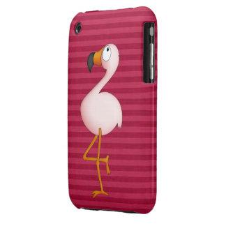 Cute Pink Flamingo iPhone 3G Case