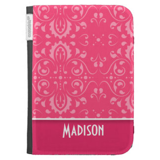 Cute Pink Floral Kindle 3 Case