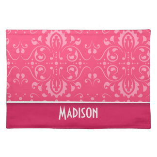 Cute Pink Floral Placemats