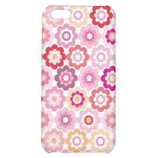 Cute pink flower iphone case iPhone 5C cases