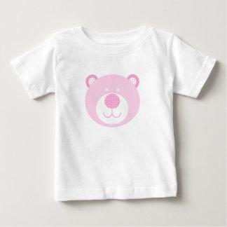 Cute Pink Friendly Bear Baby T-Shirt