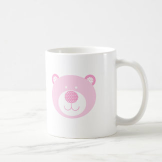 Cute Pink Friendly Bear Coffee Mug