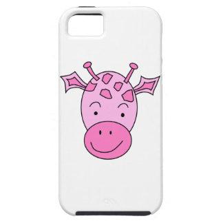 Cute Pink Giraffe. iPhone 5 Cover