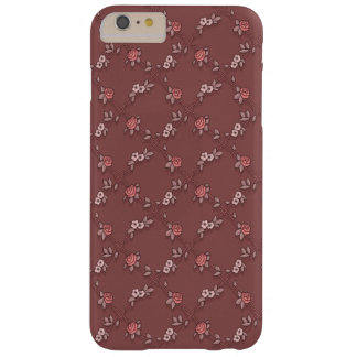 Cute Pink Girly Roses Barely There iPhone 6 Plus Case