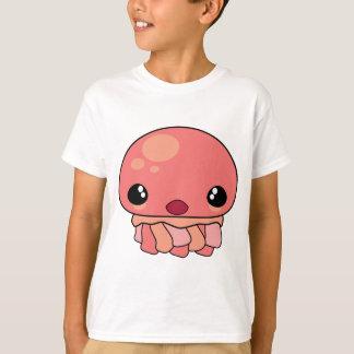 Cute Pink Kawaii Jellyfish Character T-Shirt