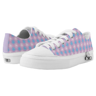 Cute pink Low Top Shoes Printed Shoes