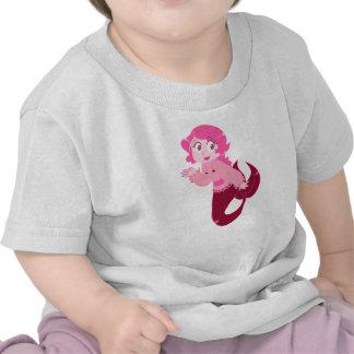 Cute Pink Mermaid Girl Shirt
