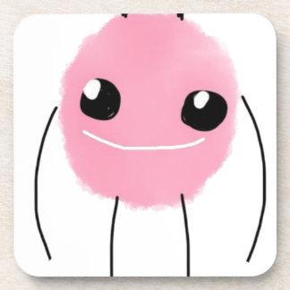 Cute Pink Monster Drink Coaster