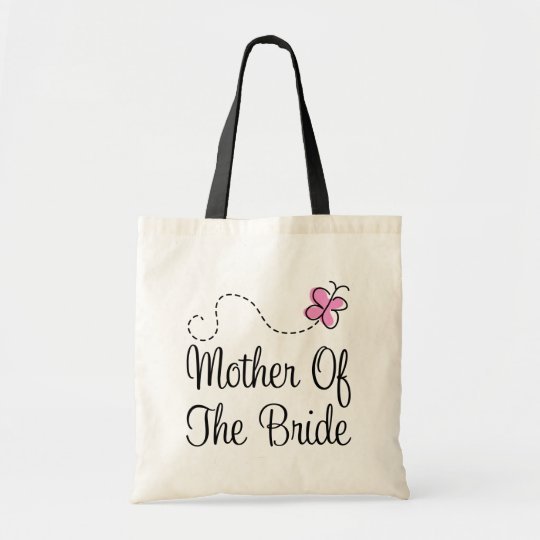 Cute Pink Mother Of The Bride Gift Tote