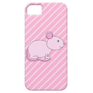 Cute Pink Mouse. iPhone 5 Covers