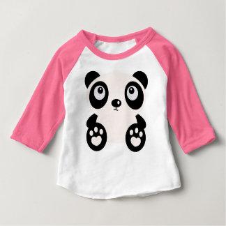 Cute Pink Panda Baby Girls Top Tee Shirts