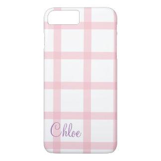 Cute pink picnic pattern iPhone 8 plus/7 plus case