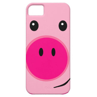 Cute Pink Pig Barely There iPhone 5 Case