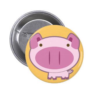 CUTE PINK PIGGY BUTTON