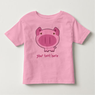 CUTE PINK PIGGY for KIDS Toddler T-Shirt
